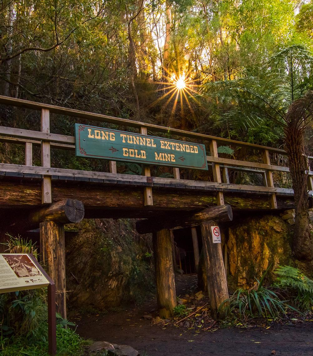 Long Tunnel Mine Tour